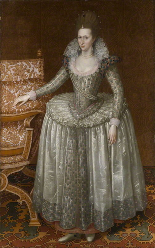 NPG 6918; Anne of Denmark by John De Critz the Elder