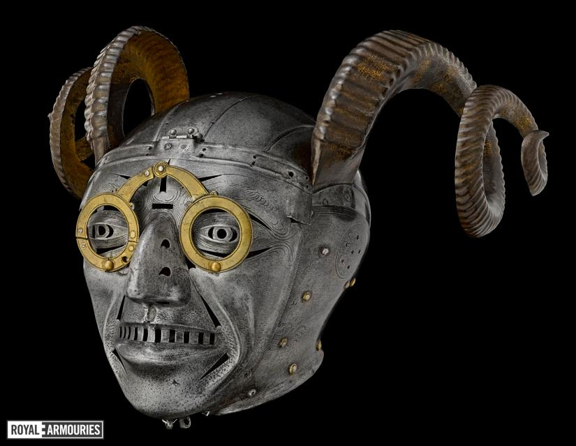 armet - the horned helmet (1512)